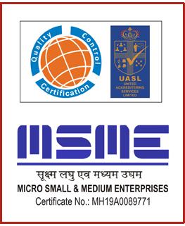 ISO & MSME Certified Company